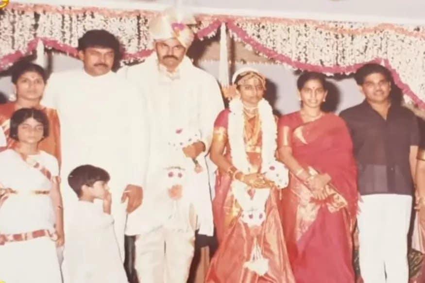 11. Naga Babu Marriage Photo