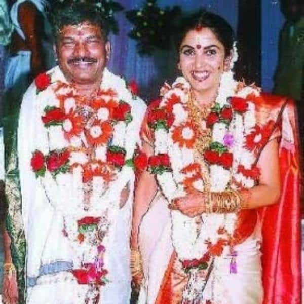12. Krishna Vamsi Ramya Krishna Wedding Photo