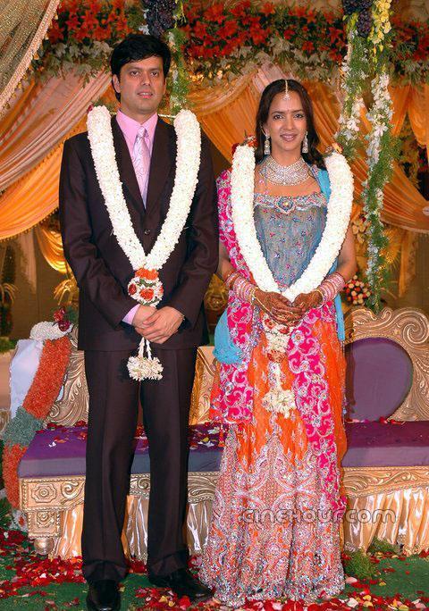 17. Manchu Lakshmi Wedding Photo