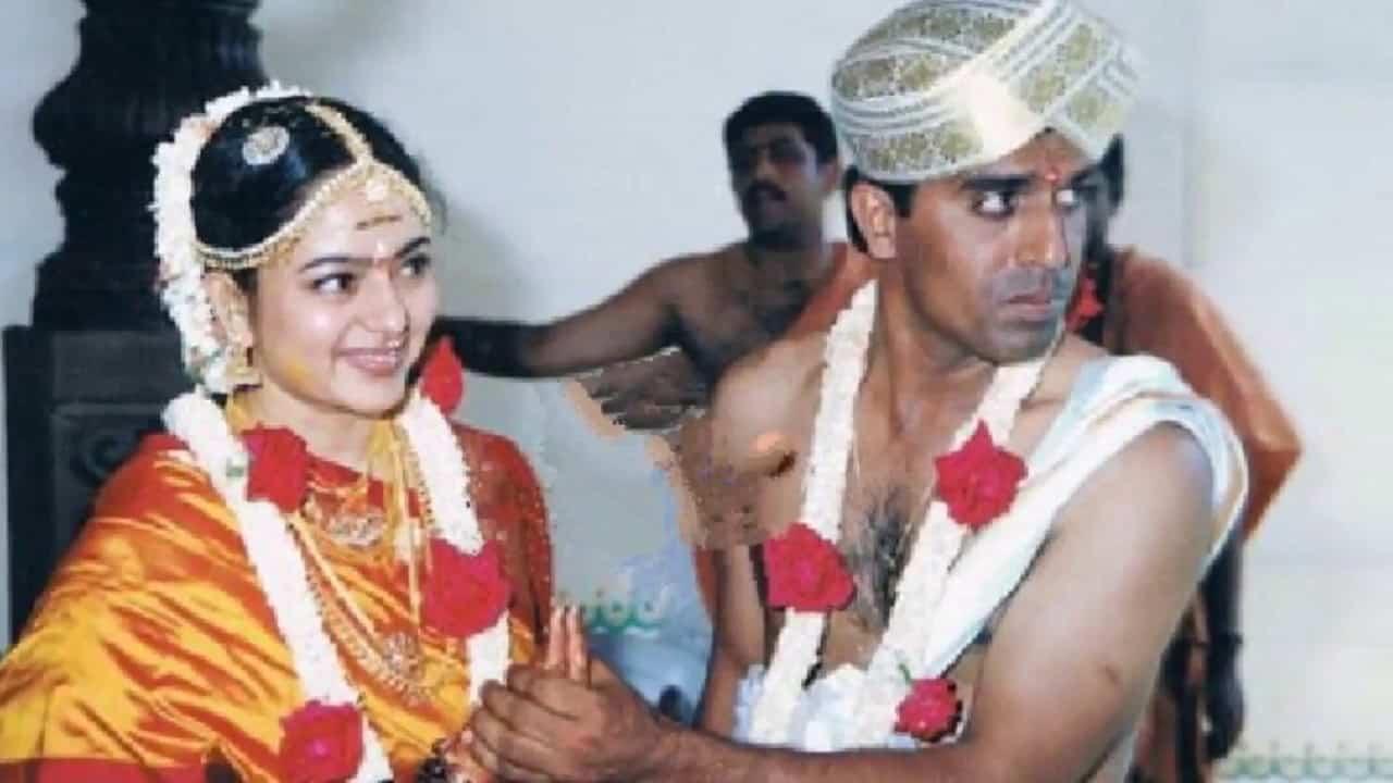 18. Actress Soundarya Marriage Photos