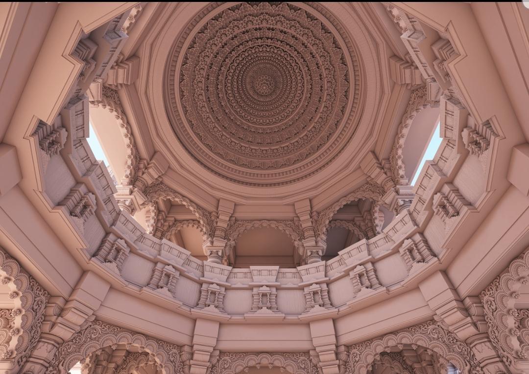 2. Arodhya Ram Mandir Replica & Architecture