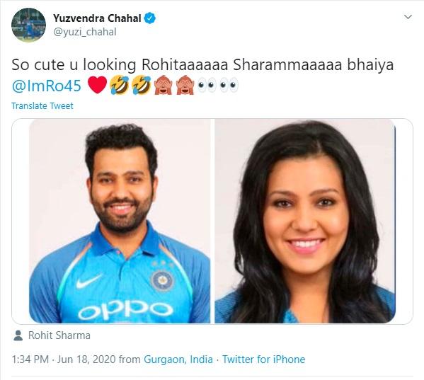 2. Chahal Tweets & Memes