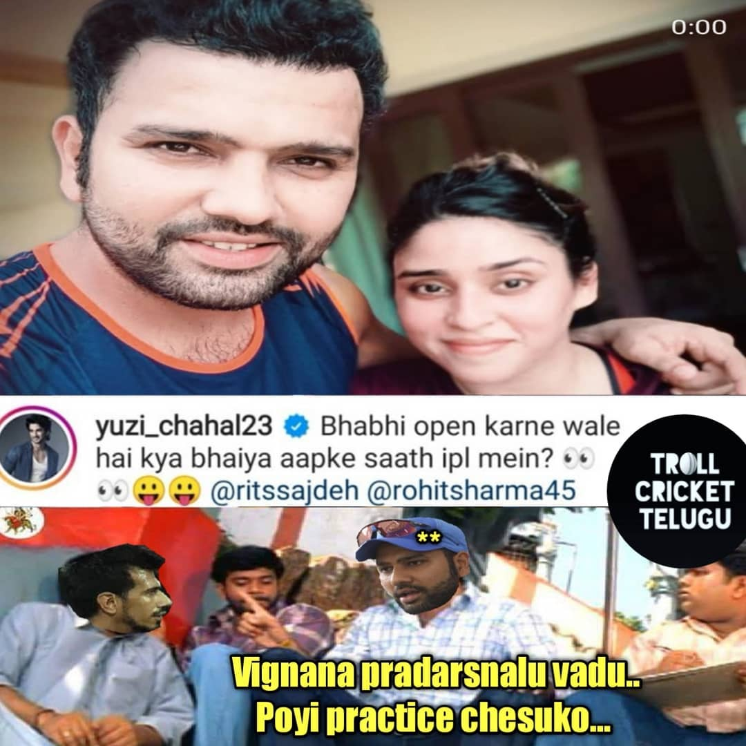 3. Chahal Tweets & Memes