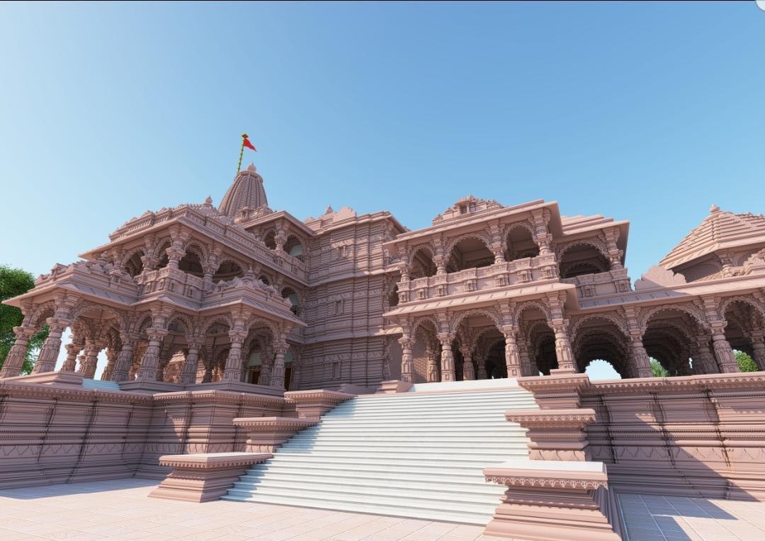 4. Arodhya Ram Mandir Replica & Architecture