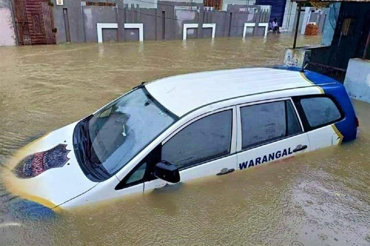 4. Warangal Floods