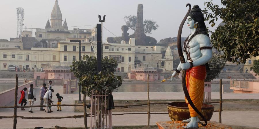 6. Arodhya Ram Mandir Replica & Architecture