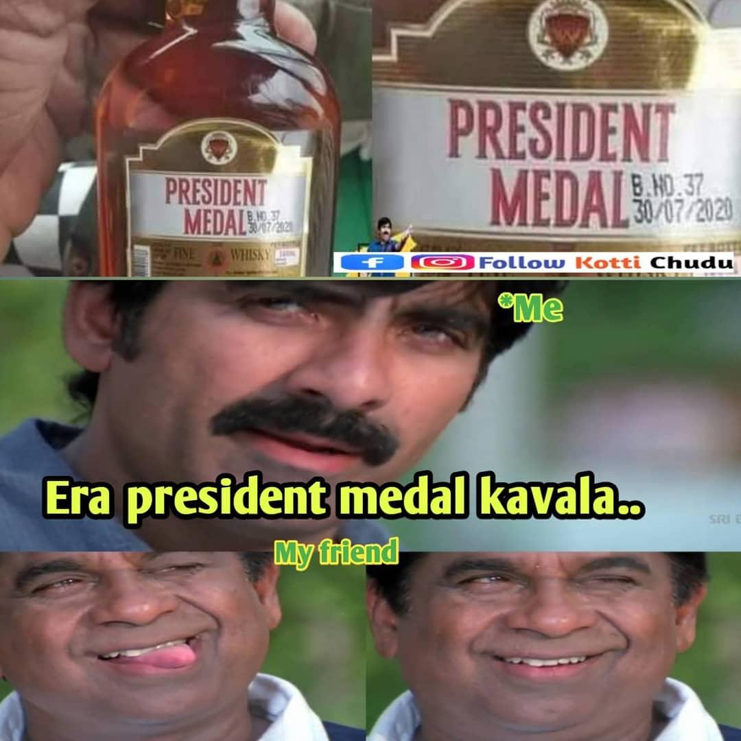 6. President Medal Memes