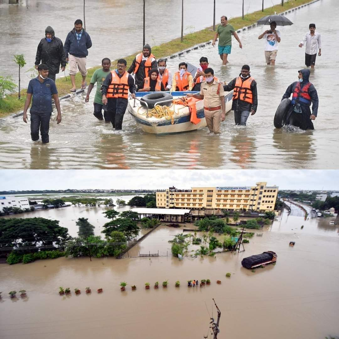 6. Warangal Floods