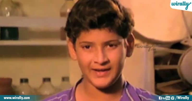 8 Childhood Roles Mahesh Babu