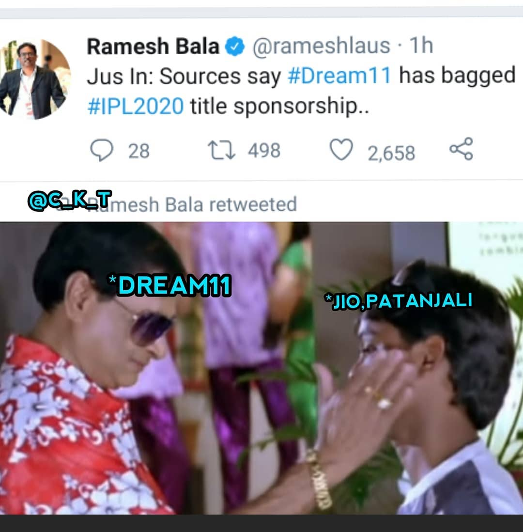 8. Dream 11 Ipl Title Sponsor