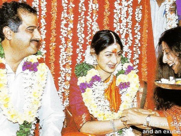 8. Sridevi Marriage Photo