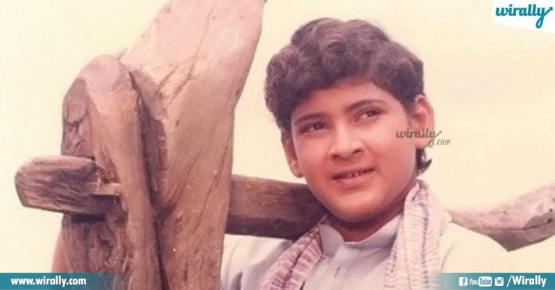 9 Childhood Roles Mahesh Babu