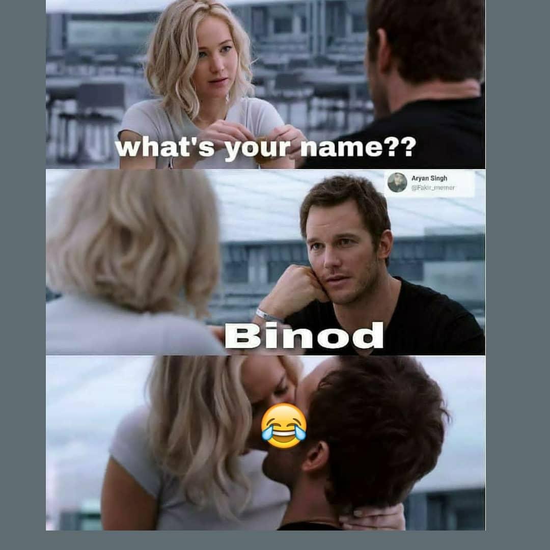 9. Binod Memes
