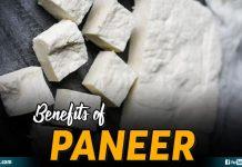 Benefits Of Paneer