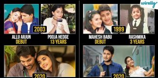 Do You Know The Age Of These Actresses When The Debut Movies Of These 8 Star Heroes Released