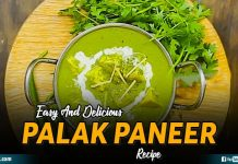 Easy And Delicious Palak Paneer Recipe