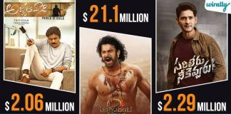 Highest Grossing Telugu Films In Usa