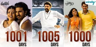 Highest Theatrical Run Tollywood Movies