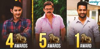 Tollywood Actors Nandi Awards