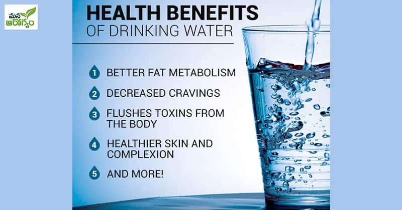 Health Benfits Of Drinking More Water