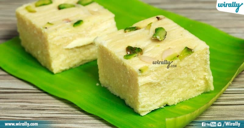 4 Indian Sweets