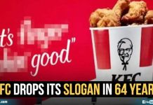 Kfc Drops Its Slogan