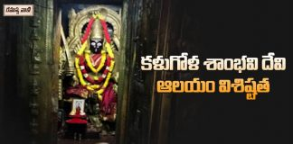 Unknown Facts About Kalugola Shambhavi Devi