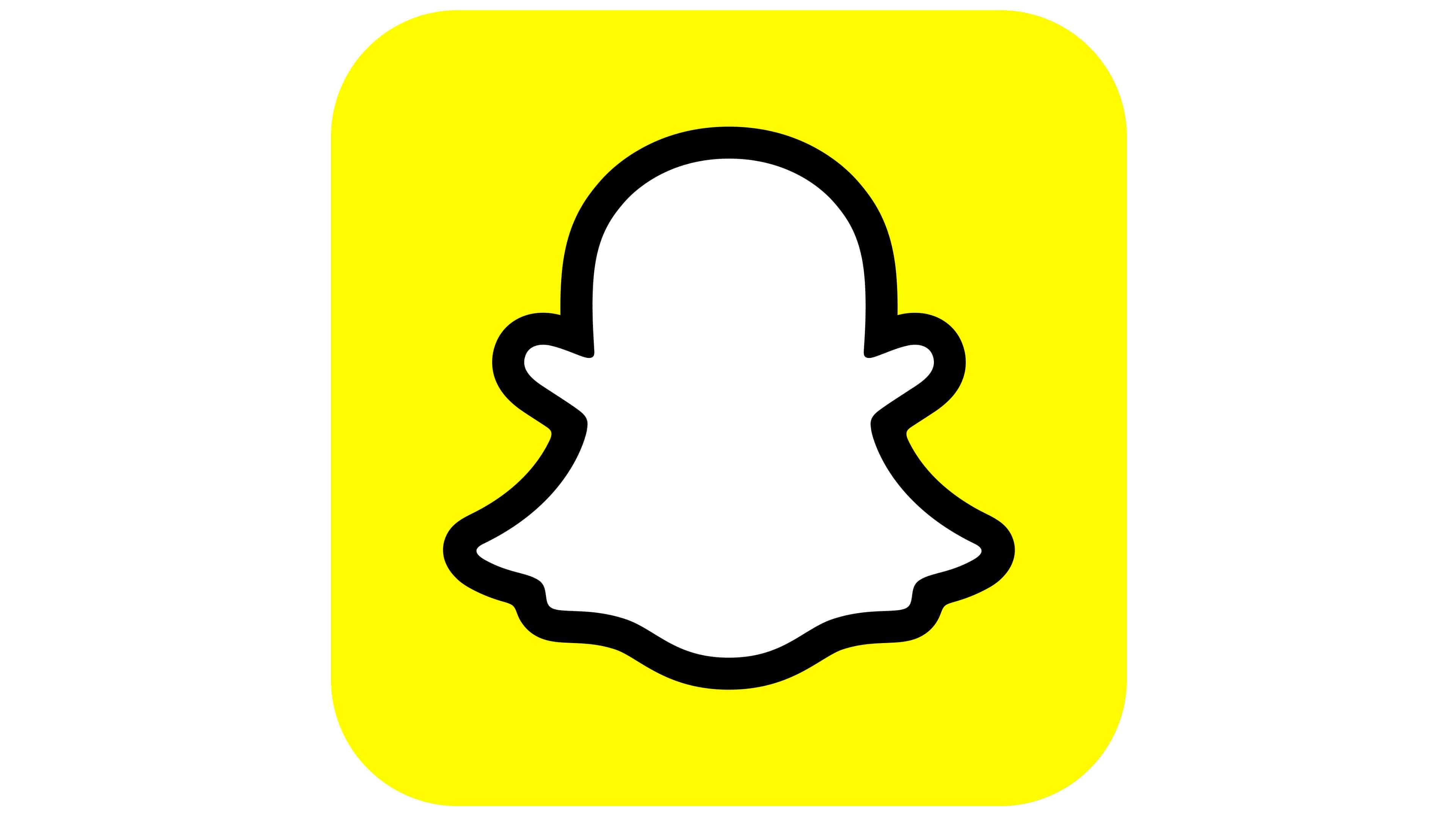 Snapchat Logo 2019–present