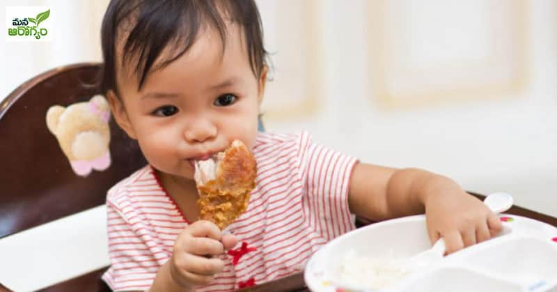 non-veg be fed to young children