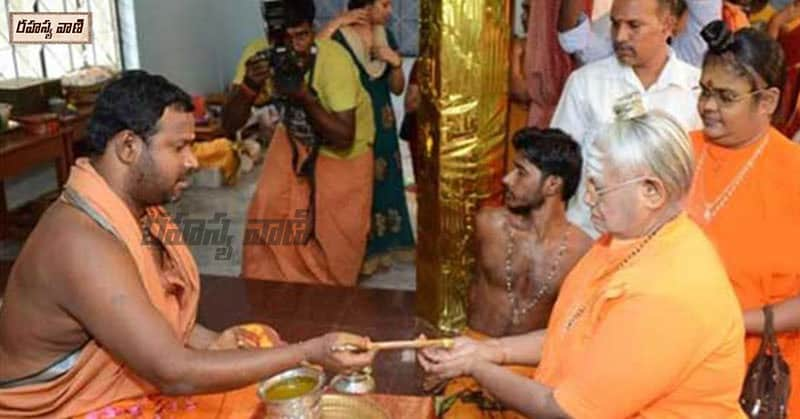 Why take Tirtha in temples?