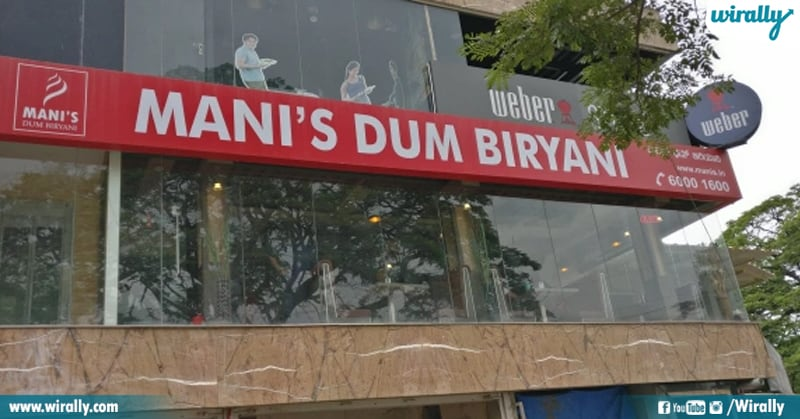 Mani's Dum Biryani