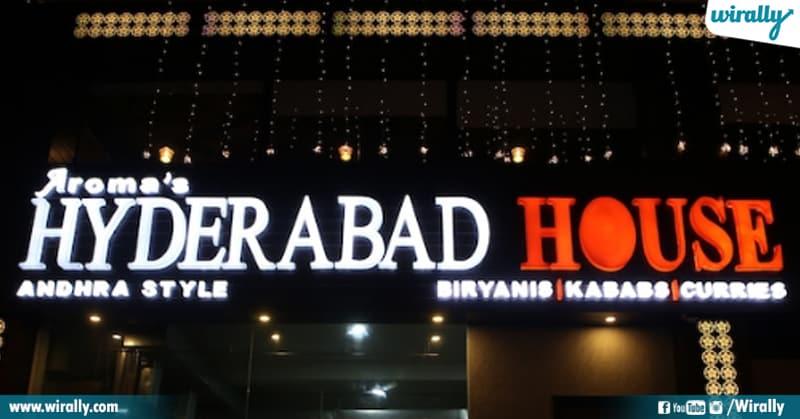Aroma's Hyderabad House