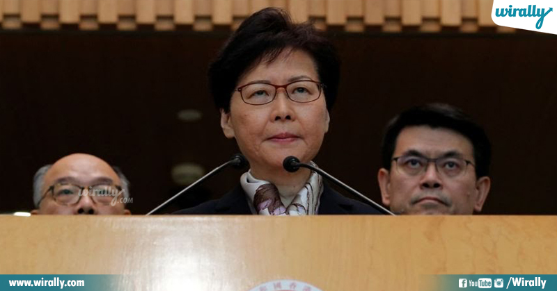 Carrie Lam Reuters