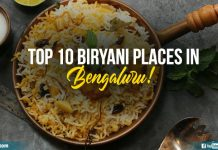 Biryani Places In Bengaluru