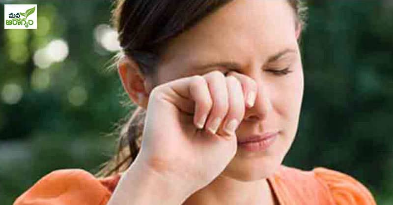 What causes redness of the eyes