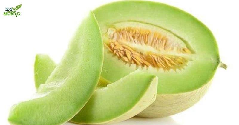 health benefits of green melon