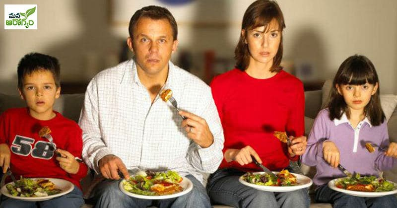 Do you gain weight by watching TV and eating