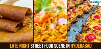Late Night Street Food Scene In Hyderabad