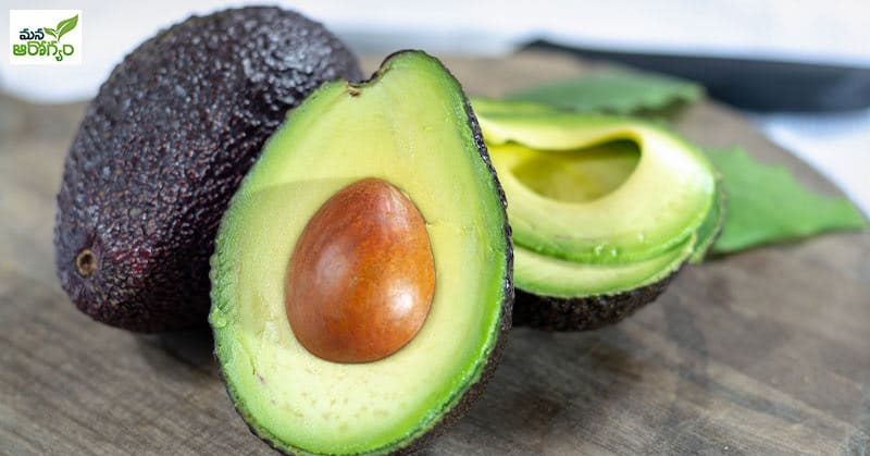 Solution with avocado pack for brittle hair