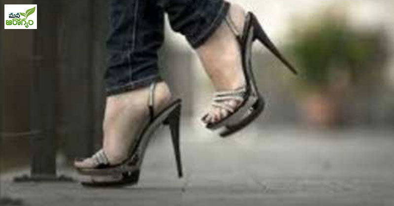 risk of joint pain due to wearing heels