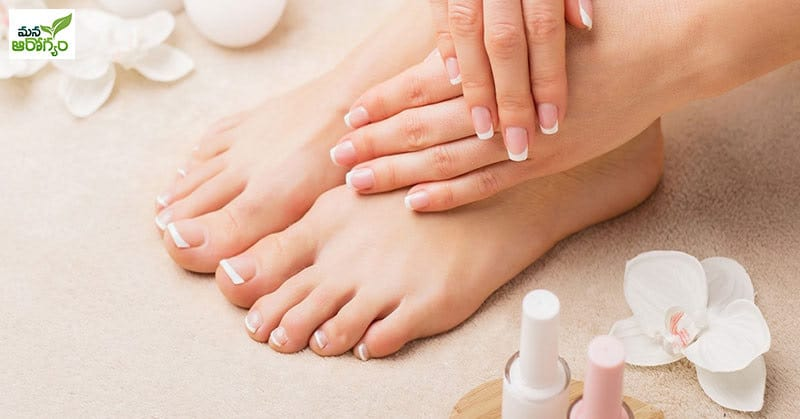 pedicure simple at home