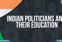 Indian Politicians And Their Education (1)