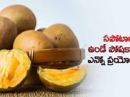 benefits to the nutrients found in sapota