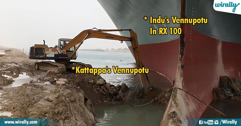 12.Suez Canal memes