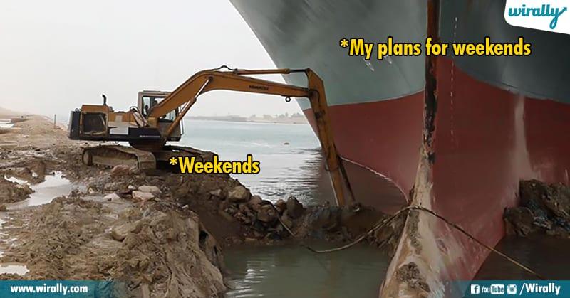 13.Suez Canal memes