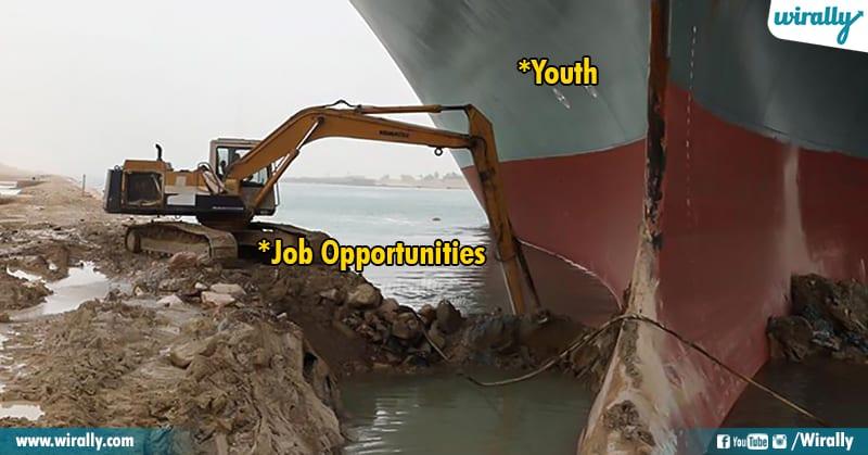 14.Suez Canal memes