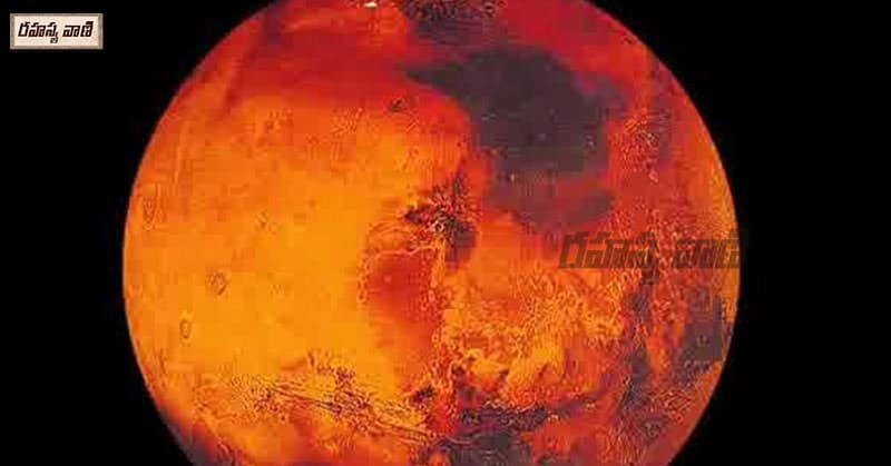 why Mars stays red