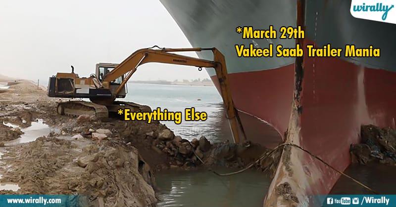 2.Suez Canal memes
