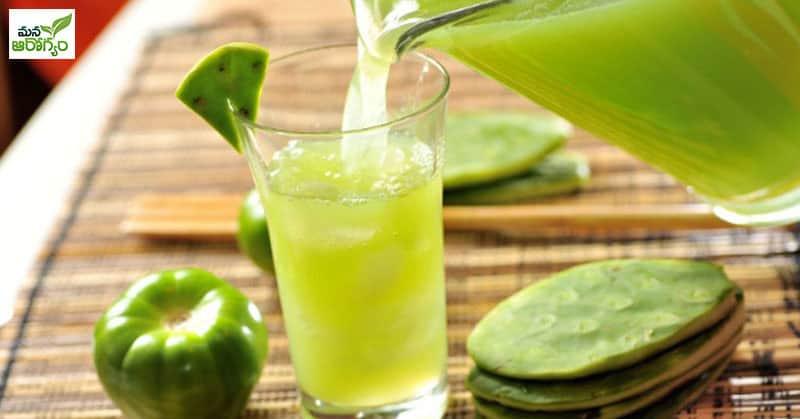 health benefits of cactus juice