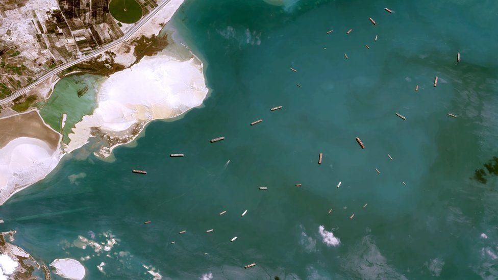 5.Suez Canal Blockage Explained